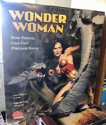 Wonder Woman Statue - Hand Crafted - Porcelain