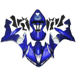 Blue White Fairings For Yamaha Yzf R1 2004 2005 2006 Yzf1000 Injection Body Kit