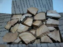Peach Wood Chunks For Smoking Bbq Grilling Cooking Smoker Priority Shipping