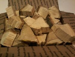 Red Oak Wood Chunks For Smoking Bbq Grilling Cooking Smoker Priority Shipping