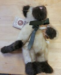 Boyd's Bears Persnickety Snotty Cat Siamese with tags