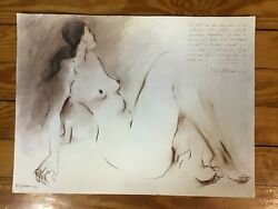 Art Prints Signed Rc Gorman Lady Chatterly's Love 1980