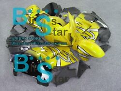 Yellow Gsxr1300 Fairing With Tank Seat Fit Gsx-r1300 98 99 97-07 181 A2