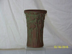 Antique Peters And Reed Moss Aztec Art Pottery Mission Artsandcrafts Long Stem Vase