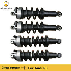 4pcs Front Rear Left Right Air Suspension Shock Absorber For Audi R8 2007-2015
