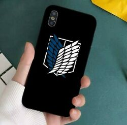 Anime Japanese Attack On Titan Iphone Case Cover Shell Pro Max Hq No Fade Fan