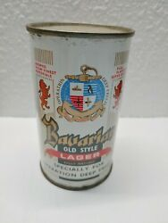 Vintage Bavarian Old Style Operation Deep Freeze Pretty Nice Flat Top Beer Can