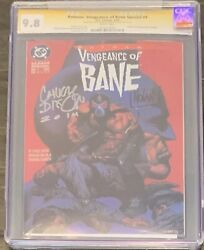 Vengeance Of Bane 1st Appearance Of Bane Cgc 9.8 Signature Series Dixon And Nolan