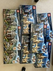 Lego Hogwarts Whomping Willow Harry Potter Tm 75953 X5 And75947 Hagrids Hut X3