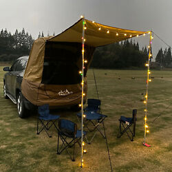 Car Tent Awning Tailgate Suv Truck Shelter Camping Travel Outdoor Sunshade Canop