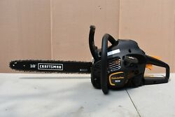 Poulan Pro Pr4218, 18 In. 42cc 2-cycle Gas Chainsaw Craftsman Bar Case Included