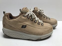 Skechers Womens Optimize Shape Ups Shoes Size 10 Brown Sn 11801 Fitness
