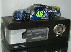 2016 Rcca Jimmie Johnson 48 Lowes Martinsville Win Elite Car197/252 Very Rare