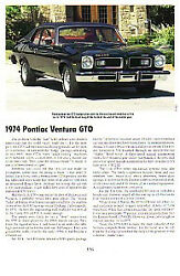 1974 Pontiac Gto 350 Article - Must See