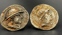 Alaxander Ancient Bakhtar Bactrian Greek Antiquities Old Coins Medals Currencey