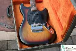 Classic 1979 Fender Mustang - Ash Body - Made In The Usa - W Hard Case