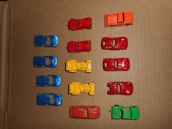 Vintage Tootsie Toys Lot Of 14 Metal Cars And Trucks Moving Sale