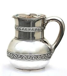 An American Silver Water Pitcher Mark Of And Co. New York