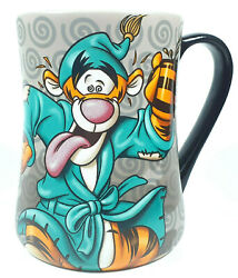 Disney Parks Tigger Coffee Mug Cup Winnie The Pooh Wired For Another Day Large