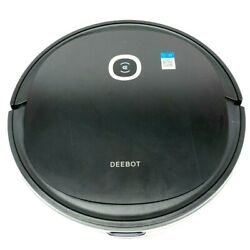 Ecovacs Deebot U2 2-in-1 Robot Vacuum Cleaner And Mop With Wifi And App In Black