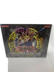Yu-gi-oh Invasion Of Chaos Unlimited Edition Factory Sealed Booster Box