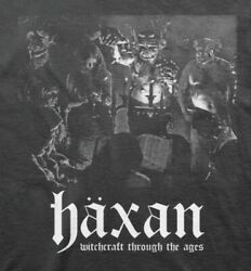 Haxan Witchcraft Through The Ages Screen Printed Cult Classunisex T-shirt S-5xl