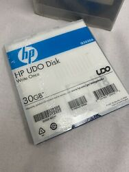Hp Q2030a, Udo1 30gb Worm Optical Media New 5-pack Barcoded