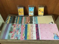 Lot Of 3 Disney Cricut Cartridges And Paperpooh And Tinkerbellnew In Clamshell