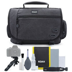 Koah Tillary Messenger Camera Bag with Accessory amp; Cleaning Kit $39.99