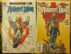 Animal Man 0, 1-29, Annual 1 Complete Series New 52, Jeff Lemire, Swamp Thing