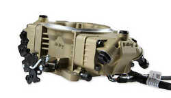 Holley Efi 534-297 Terminator X Stealth 4150 Throttle Body 8 Injectors Gold