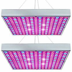 Led Grow Light 45w Plant Lights Red Blue White Panel Growing Lamps For Indoor Pl