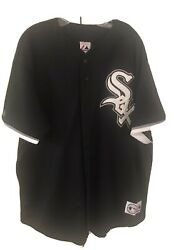 Majestic Chicago White Sox Jersey Size 2x. Preowned