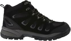 Propet M3599b Leather Black Wide Fitting Ridge Walker Boots For Menand039s Width 5e