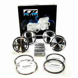 Cp Pistons Forged Set 86.5mm 9.01 C/r For Toyota Celica Mr2 Turbo 3sgte 90-95