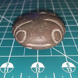 Native American Columbia River Carved Stone Frog Fetish / Effigy Oregon Area