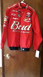 Budweiser Jacket, New, Size M, Hase Authentics Drivers Line, Licensed 2003