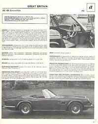 1967 Amphicar + 1967 Ac 428 Convertible Article - Must See