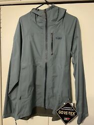 Mens Xl Outdoor Research Foray Jacket Goretex New With Tags