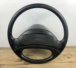 ✅ 1992-1997 Ford F-250 F-350 Steering Wheel Rubber Horn Button Wo/ Cruise Oem