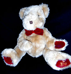 Puppet Teddy Bear Made By Strauss - La Senza 1998 16 Inches