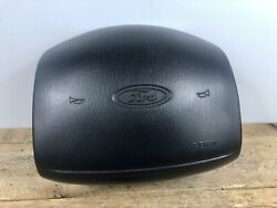 97-01 Ford F150 F250 F350 Expedition Excursion Driver Steering Air Wheel Bag Blk