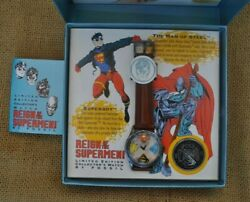 Vintage Reign Of The Supermen 1993 The Kryptonian W/box Coin 2840/15000