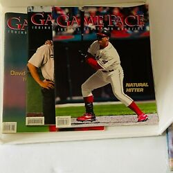 Three Cleveland Indian Game Face Sport Magazines