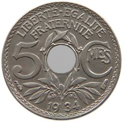 France 5 Centimes 1934 Top A60 239