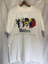Vintage 90s The Beatles Watch Collection Tshirt Xl Deadstock Single Stitch