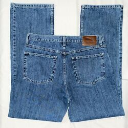 Pre-owned Bob Timberlake Bass Pro Shops Menand039s Straight Leg Jeans 34x34