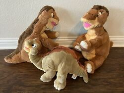 The Land Before Time Little Foot Gund Tag Vtg 1988 Stuffed Animal Plush 3
