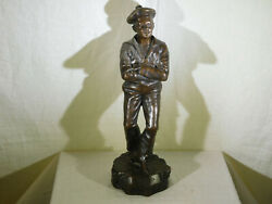 Jean Garnierlisted Antique Bronze Sculpture Stamped Foundry Mark Signed And039d