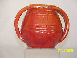 A.r.cole C1930's Rainbow Pottery North Carolina Exceptional Vase Bottom Stamp